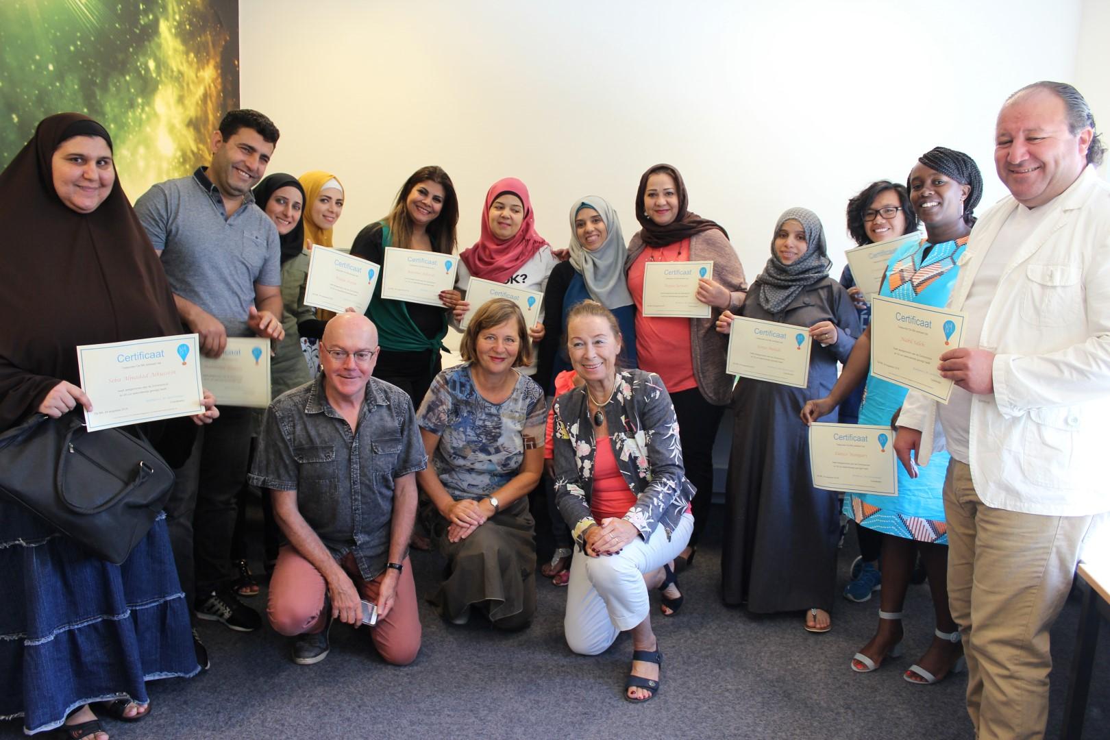 Felbegeerde certificaten uitgereikt in de Zomerschool